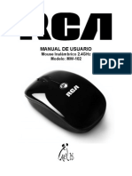 MW-102 Mouse (MS201OR) Manual_SP