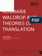 Duffy Rosmarie.waldrop Theories of Translation