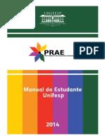 Manual Estudante Unifesp 2014