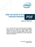 Intel 64 and IA-32 Architectures Software Developers Manual - Volume 1 - Basic Architecture