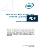 Intel 64 and IA-32 Architectures Software Developers Manual - Volume 2B - Instruction Set Reference N-Z