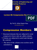 Lecture -08 Compression Members
