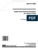 2007 Under-hood Thermal Simulation