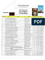 HowBks June-Oct List