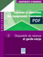 Guide FAEQ 4 Dispositifs de Retenue Et Garde-corps