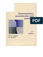 Geochemistry, Groundwater and Pollution +