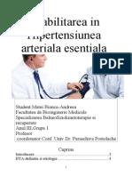 Reabilitarea in Hipertensiunea Arteriala Esentiala
