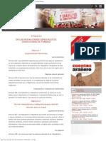 Título IV_ de Las Modalidades Especiales de Condiciones de Trabajo _ Ley Del Tr