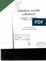 Gandirea Sociala a Bisericii, fragment