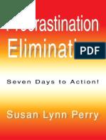Procrastination Elimination