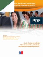 Tema 4 Tipos de Contenidos, actividades, estrategias de enseñanza y recursos