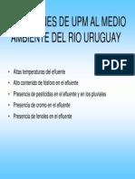 Violaciones de Upm Al Medio Ambiente Del Rio Uruguay 0
