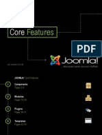 Joomla! v 1.5 Core Features