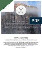 Página web OSXYosemite - Presentación