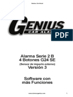 Alarma Genius 2B 4bot Se V3
