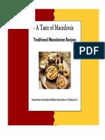 Traditional Macedonian Menus