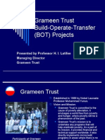 Grameen Trust Build-Operate-Transfer (BOT) Projects