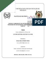 ESTUDIOCOMPARATIVODEAUTOEFICACIAYSOLUCIONDEPROBLEMASENADOLESCENTESTEMPRANOSINTERMEDIOSYTARDIOS