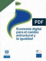 Economia Digital Para Cambio Estryigualdad