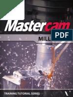 Mastercam X6 Mill Level 1 Tutorial 1