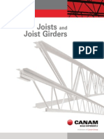 Canam Joists and Girders Catalogue Canada