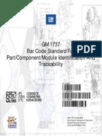 Bar Code Standard