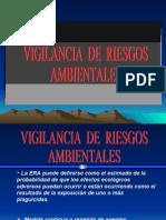 vigilancia de riesgos ambientales