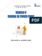 MODULO v Manual Power Point 2010