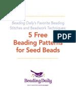 5 Free Seed Bead Patterns