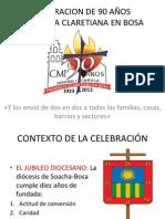 Celebracion de 90 Aos Presencia Claretiana en Bosa