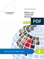 M&as and Corporate Strategy-InSEAD