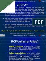 Aplicación de RCFA