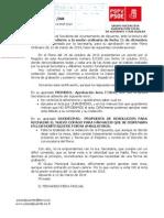 Nuestro Escrito Al Acta de 11 Diciembre 2013