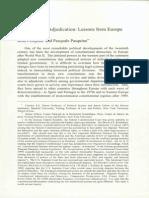 Constitutional Adjudication Pasquino