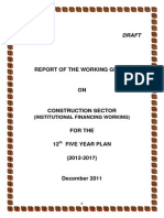 Www.cidc.In_new_support_overview_2012-2017_Report - Working Group on Institutional Financing Working