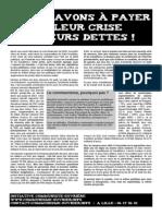 Tract Rentrée Lille
