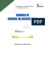 MODULO VI Unidad Manual Access 2010