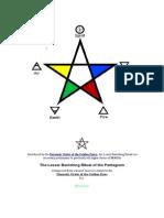 The RECTIFIED Lesser Banishing Ritual of the Pentagram