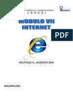 MODULO VII Manual Internet 2010