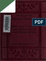 Souter. Tertullian Treatises