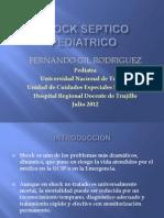 Shock Septico Pediatrico Unt 2012