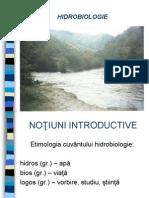 curs Hidrobiologie 1
