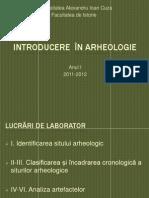 Introducere În Arheologie. Sem.ii.