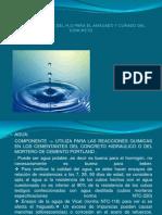 CARACTERISTICAS DEL H2O PARA EL AMASADO Y CURADO.pptx