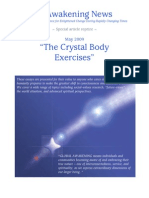 The Crystal Body Exercises- May 2009
