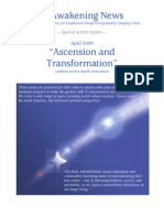 Ascension and Transformation - Updates and In-Depth Discussion - April 2009
