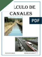 Informe Canales - Mec. Fluidos II