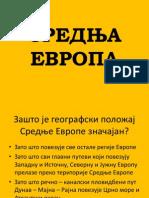 1. Srednja Evropa