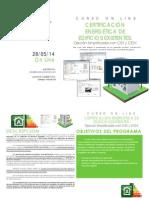 Dossier Certificacion Energetica de Edificios Curso Online1