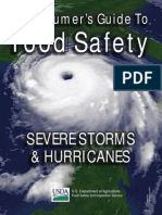 Food Safety during severe storms